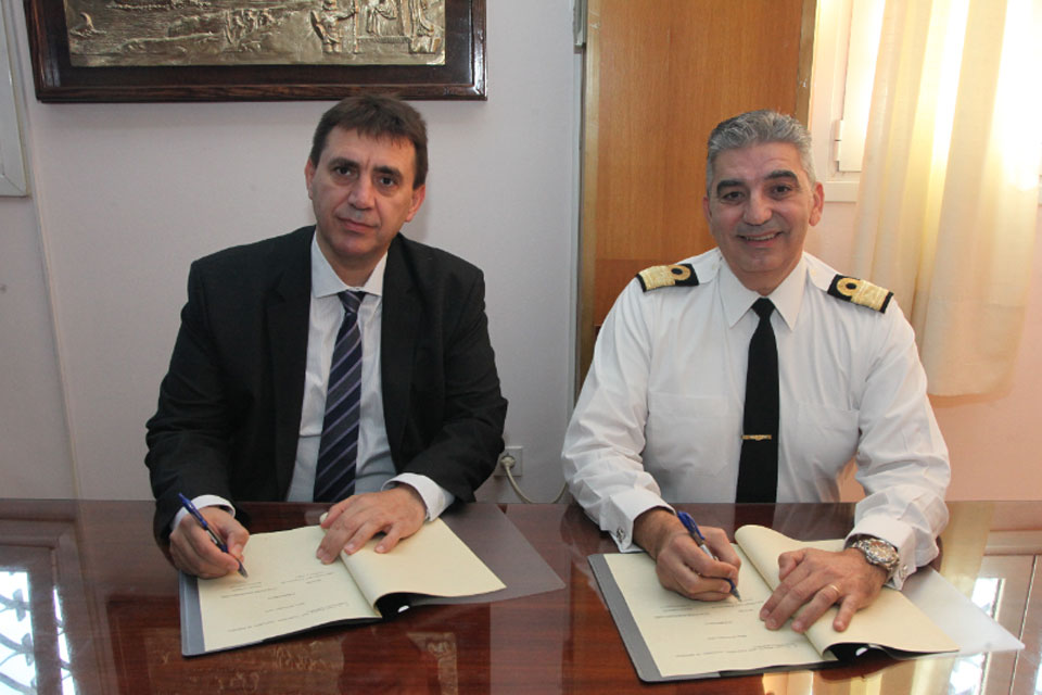 Prisma Electronics and Hellenic Navy Sign Memorandum of Collaboration