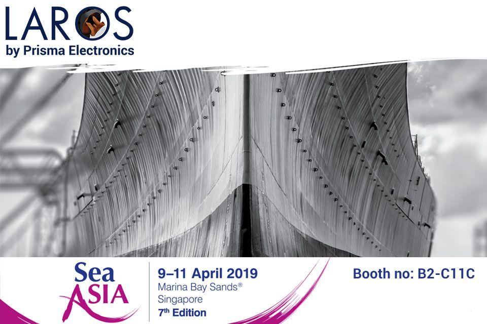 Laros by Prisma Electronics at Sea Asia 2019